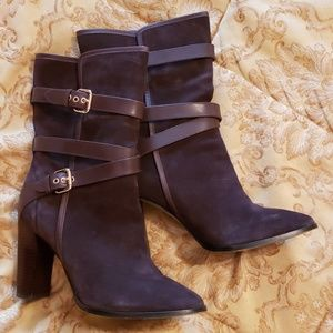 "Coach ""Alexandra"" Suede Boots"